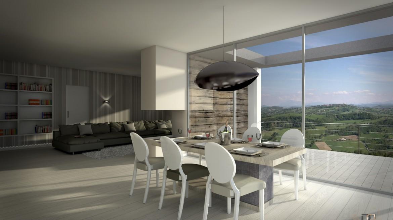 Studio di progettazione arredo prima casa in montagna for Piccoli piani di progettazione in studio