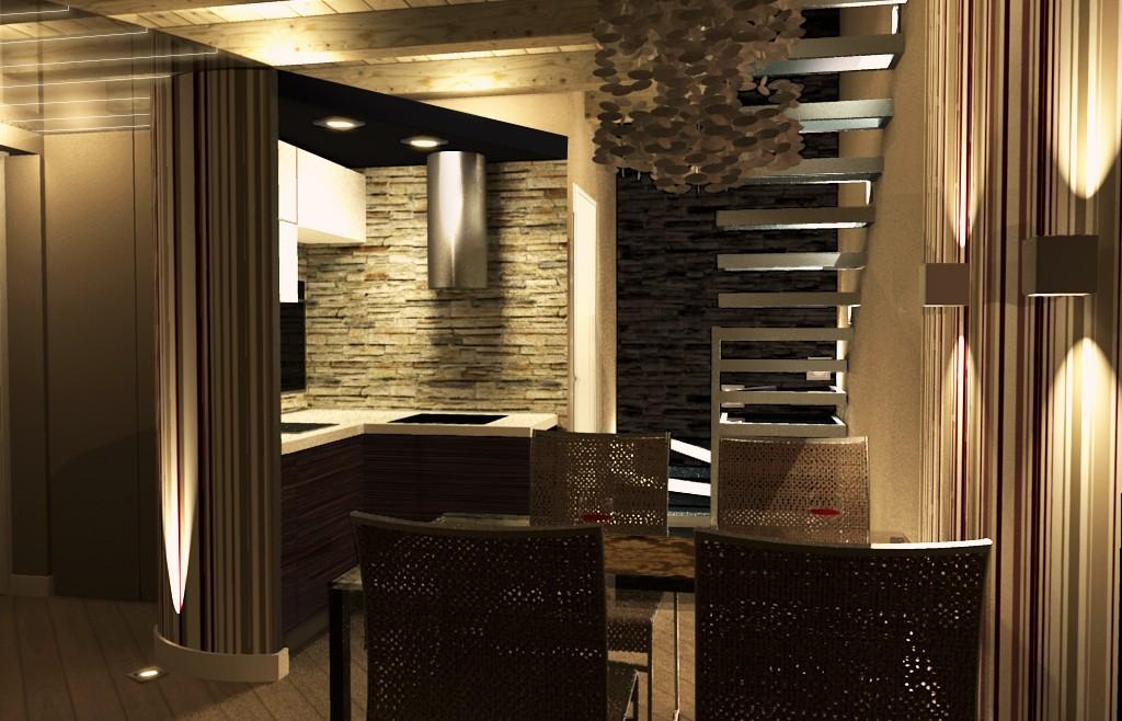 Studio di progettazione arredo seconda casa sul lago d for Arredare studio di casa